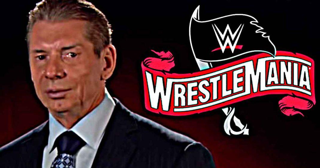 Vince McMahon continua haciendo cambios al cartel de WrestleMania 37