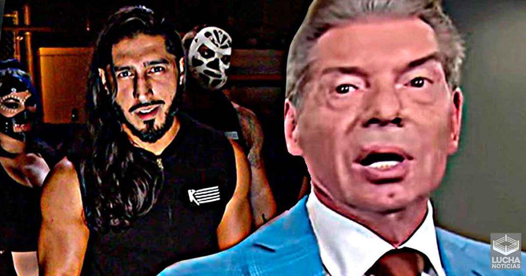 Vince McMahon no creia que Mustafa Ali pudiese hacer un promo en WWE