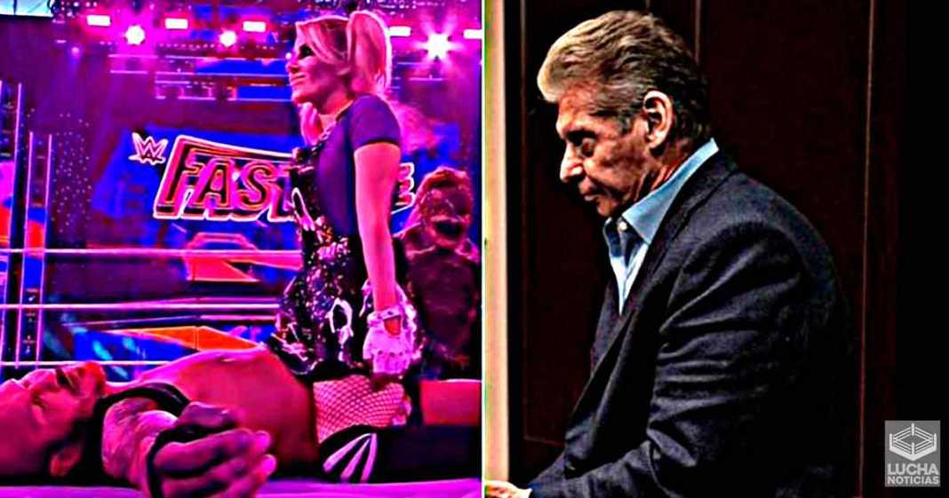 Vince McMahon se enoja después de lucha de Randy Orton