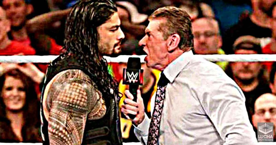 Vince McMahon tenia problemas con el atuendo de Roman Reigns