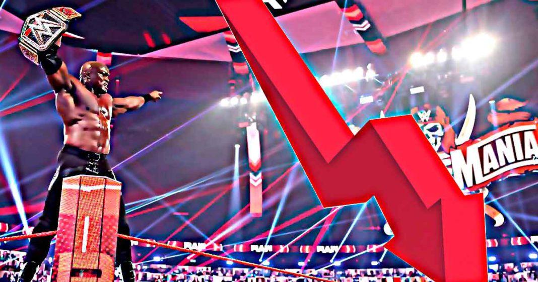 WWE RAW baja en rating a pesar de la victoria de Bobby Lashley