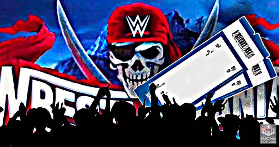 WWE WrestleMania será el evento en vivo más grande desde que inicio la pandemía