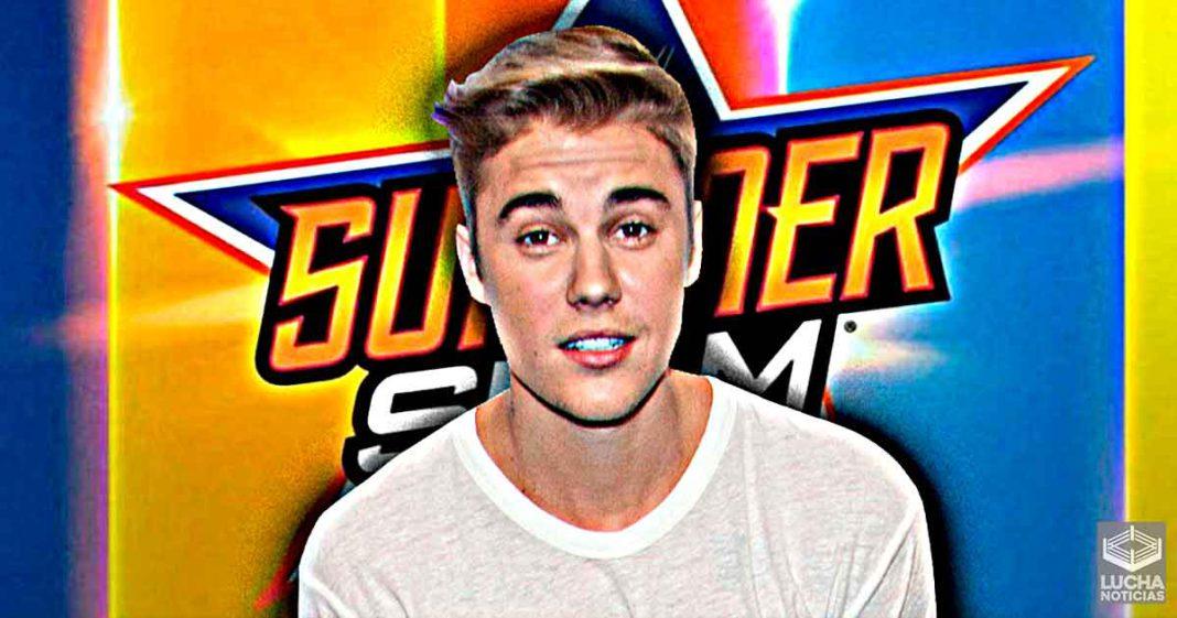 WWE canceló lucha para Justinn Bieber cuando estaba 100% a bordo