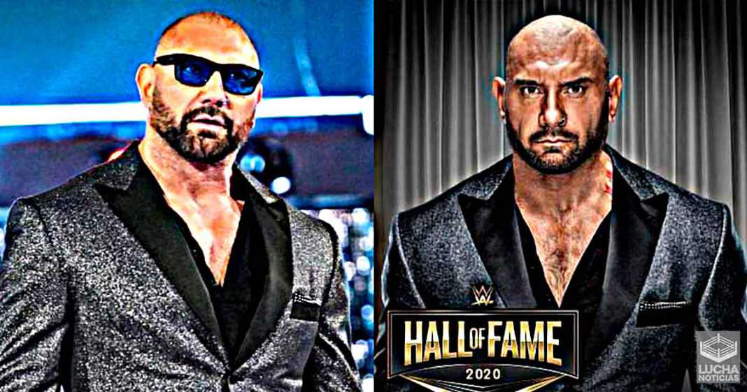WWE elimina a Batista del Hall Of Fame
