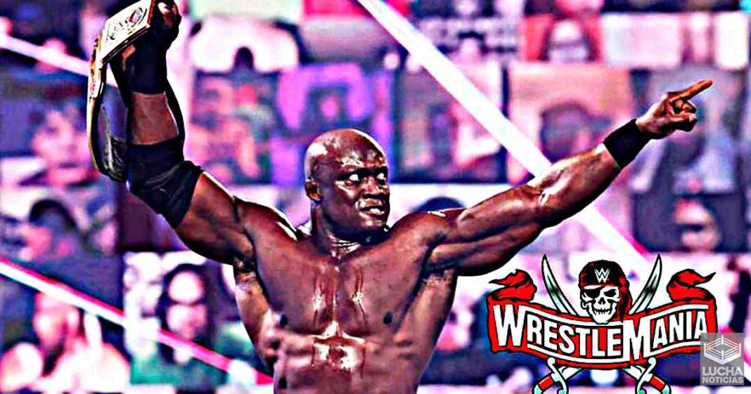 WWE finalmente ha elegido al oponente de Bobby Lashley en WrestleMania 37