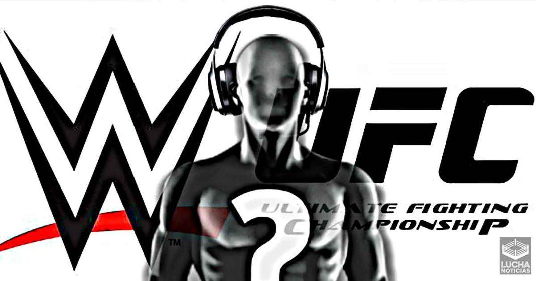 WWE hace un tryout a antiguo comentarista de la UFC