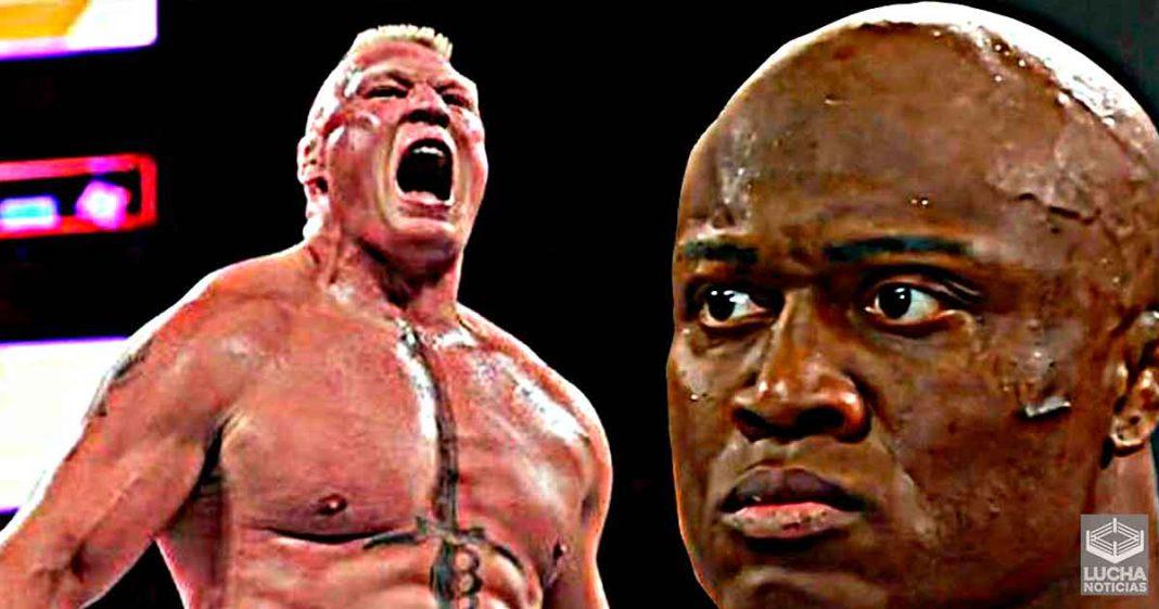 WWE le prometió a Bobby Lashley una lucha contra Brock Lesnar