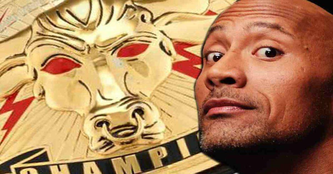 ¿Porqué nunca debuto el Campeonato Brahma Bull de The Rock en la WWE?