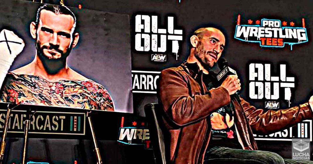 15 luchadores que CM Punk quiere enfrentar si regresa a la lucha libre