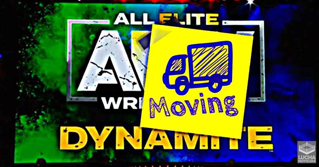 AEW Dynamite ya no podría ser transmitida los miércoles por la noche