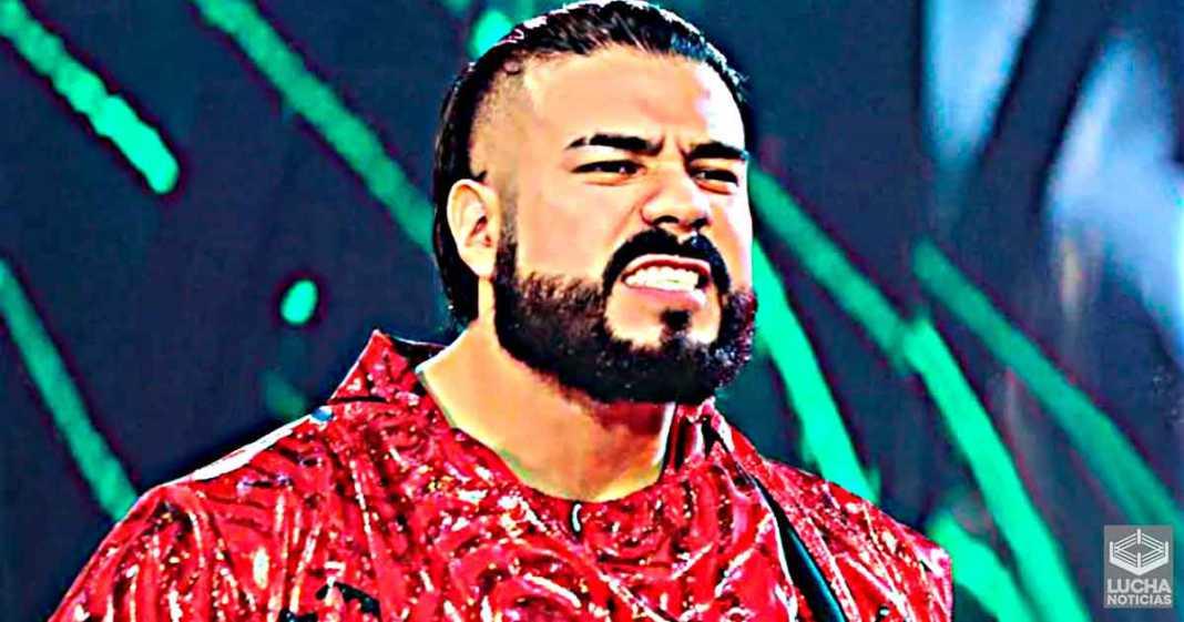 Andrade aún quiere ser campeón de la WWE