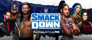 Banner SmackDown abril 2021