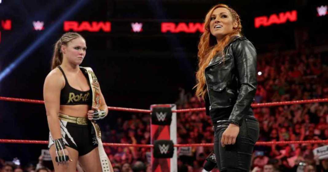 Becky Lynch y Ronda en WWE