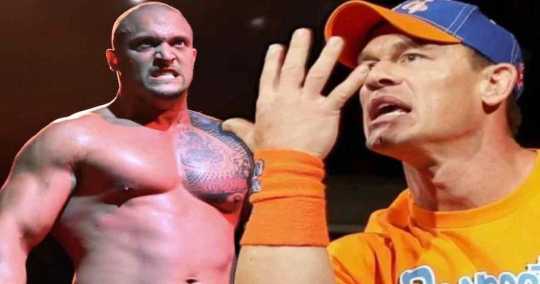 Bizarra reacción de John Cena a que Karrion Kross está listo para retirarlo