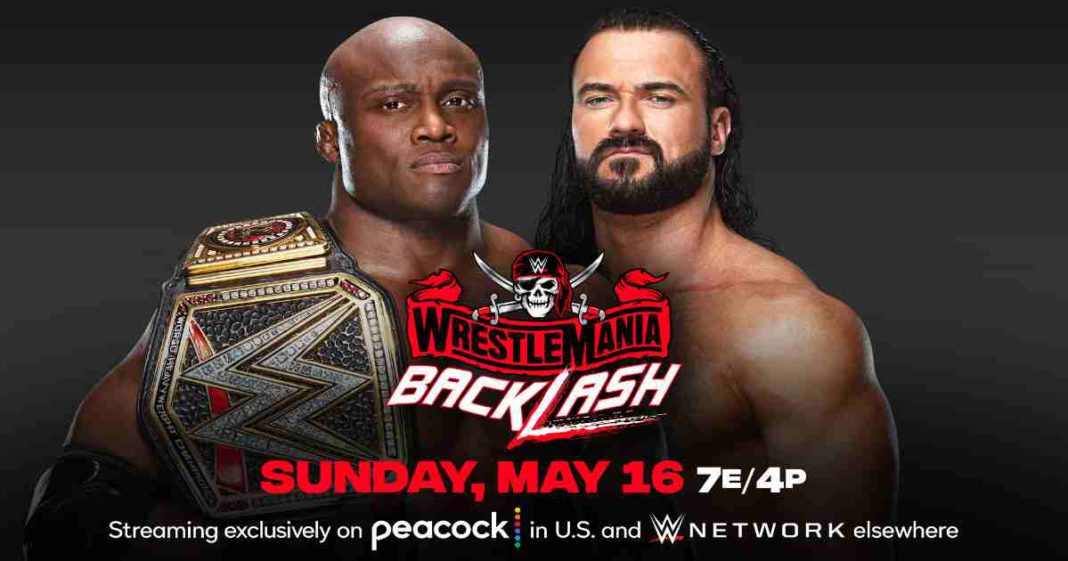 Bobby Lashley vs. Drew McIntyre por el título de la WWE en WrestleMania Backlash