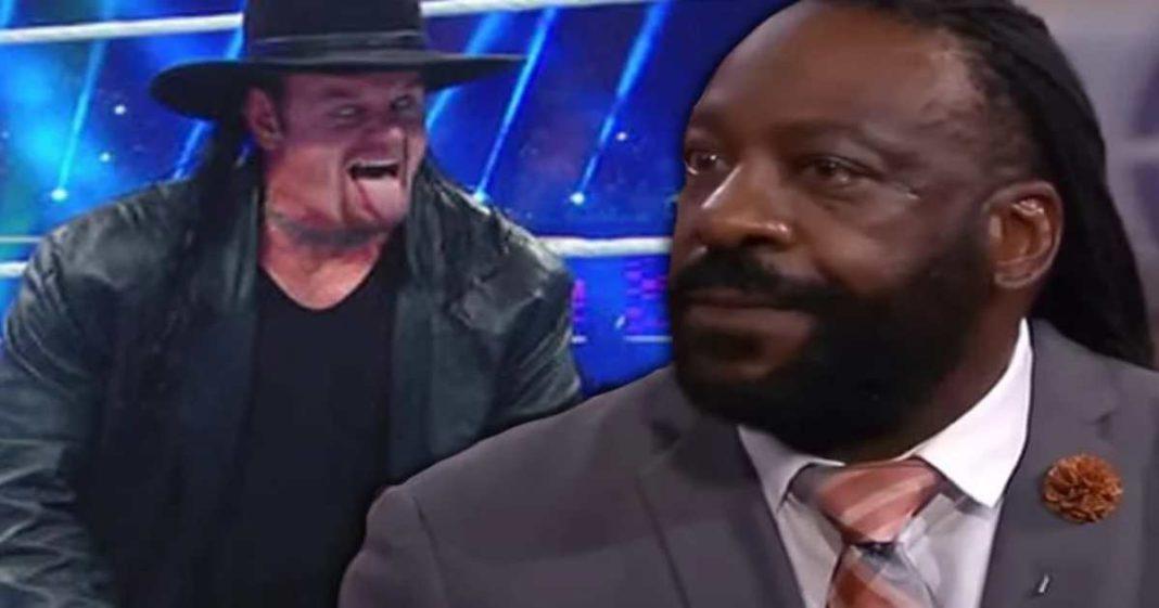 Booker T dice que se tuvo la misma reacción en la derrota de Drew McIntyre con el fin de la racha