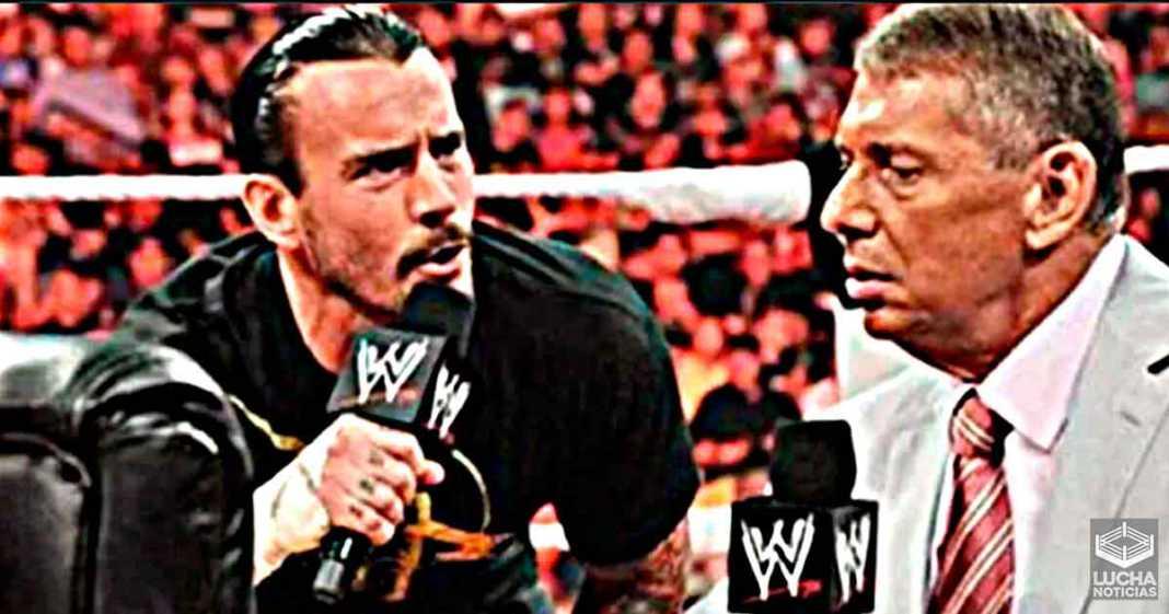 CM Punk dice que Vince McMahon no está preocupado por AEW