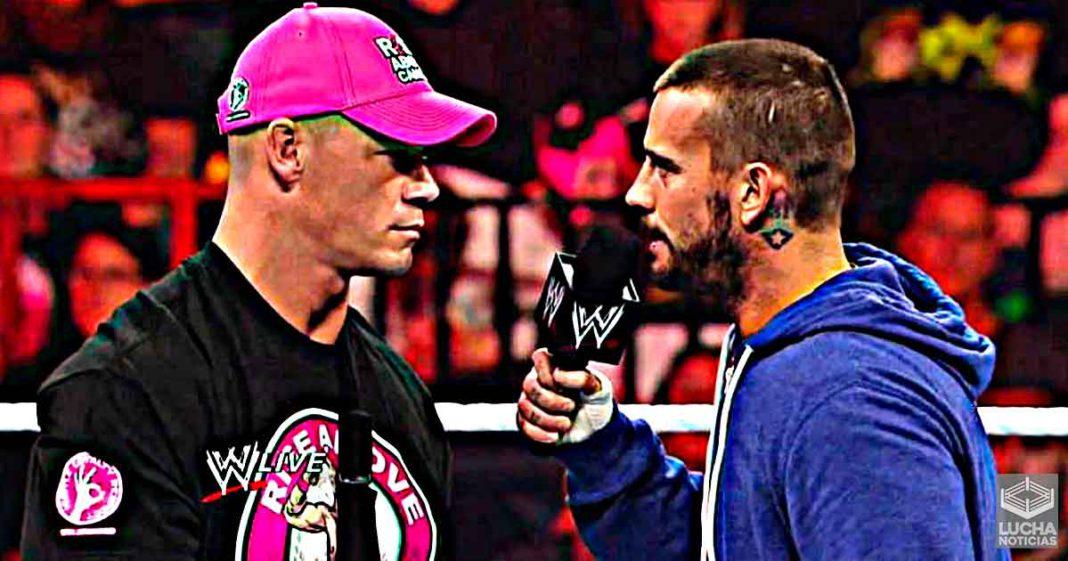 CM Punk y John Cena podrían regresar, según un veterano de la WWE