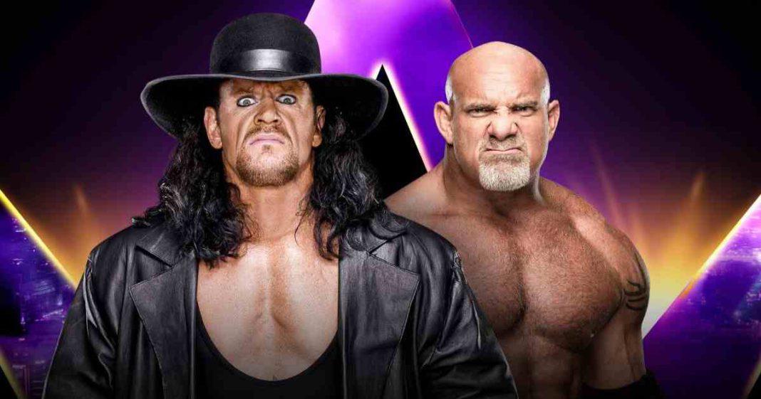 Casi se detiene The Undertaker vs. Goldberg después de que casi se rompen el cuello