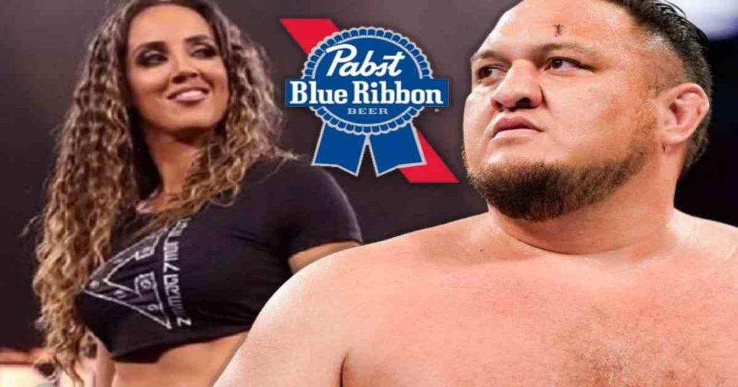 Cervecería dice que firmaron a Chelsea Green y Samoa Joe