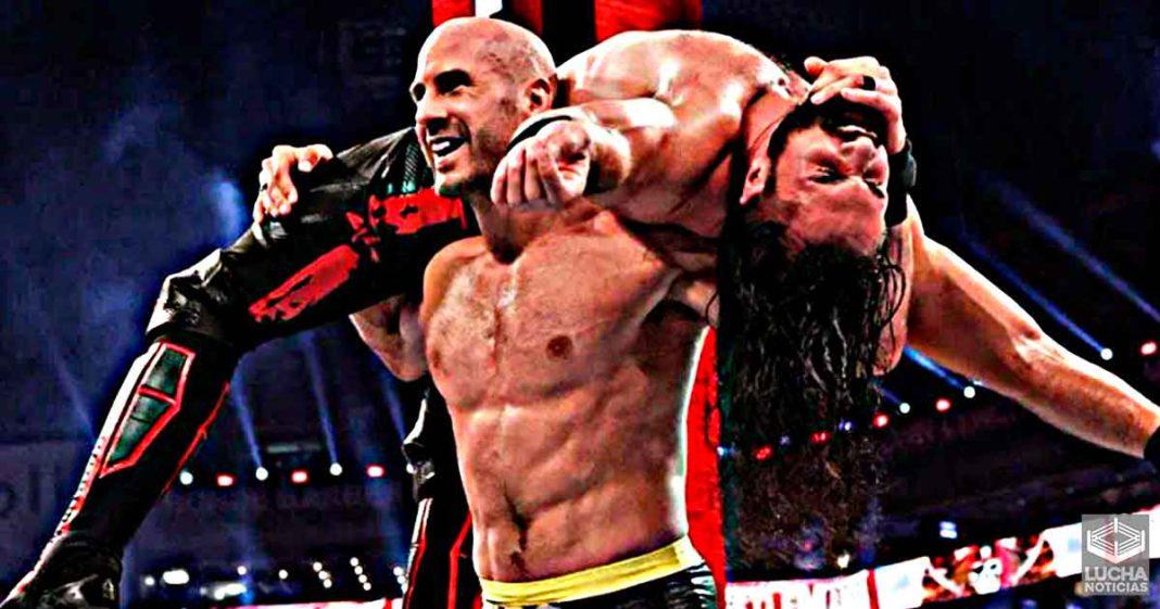 Cesaro revela por qué no usa frecuentement el UFO en WWE