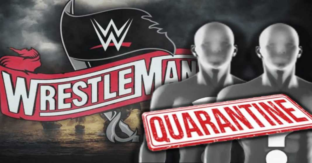 Cuarentena voluntaria previa a WrestleMania 37