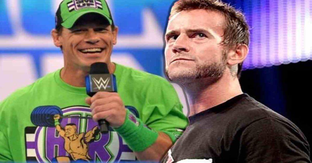 Es un movimiento desesperado de los actuales luchadores mencionar a CM Punk y John Cena