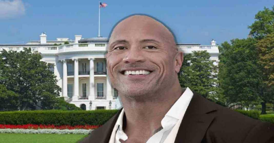 Gente a favor de The Rock sea el próximo presidente de los Estados Unidos en 2024
