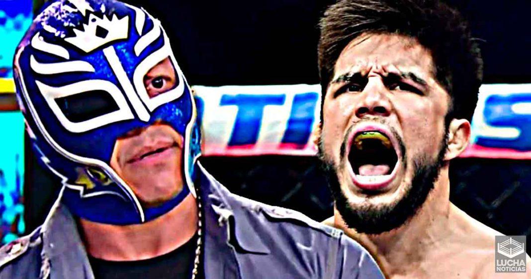 Henry Cejudo quiere ser el próximo Rey Mysterio en la lucha libre