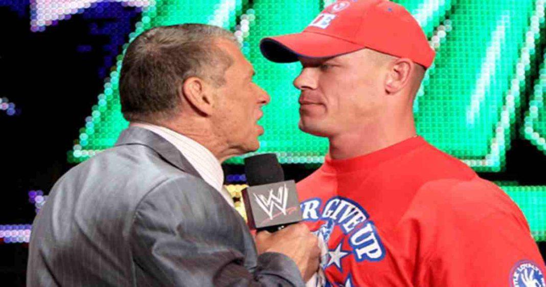 John Cena revela la reaccion que tuvo Vince McMahon de que dejaba WWE para ir actuar