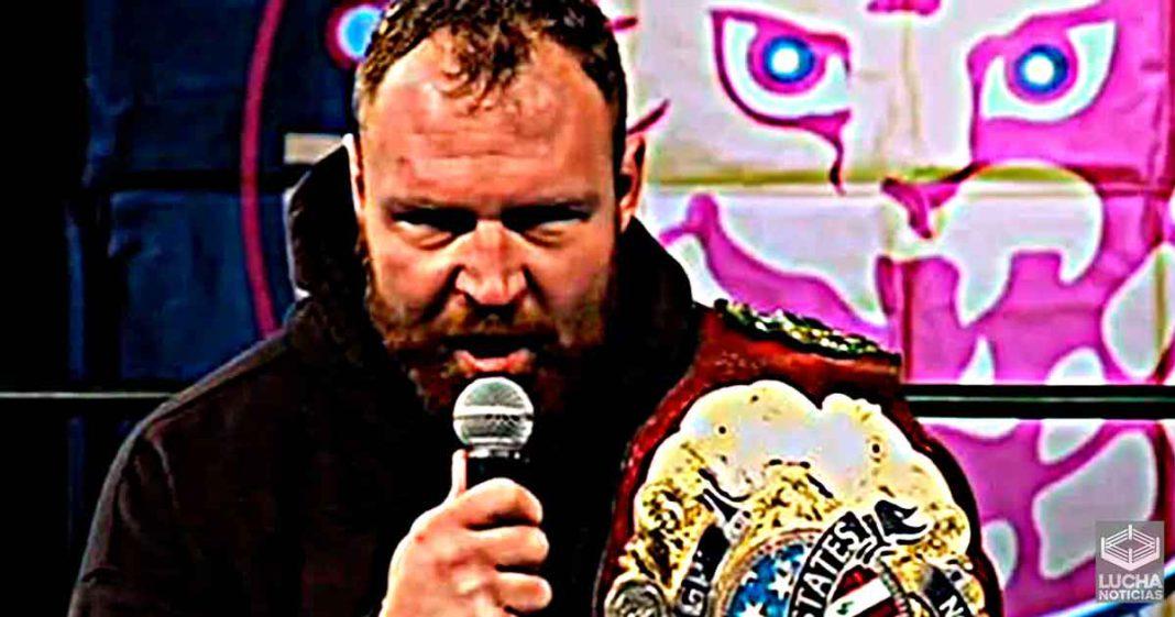 Jon Moxley defenderá el campeonato IWGP en AEW Dynamite