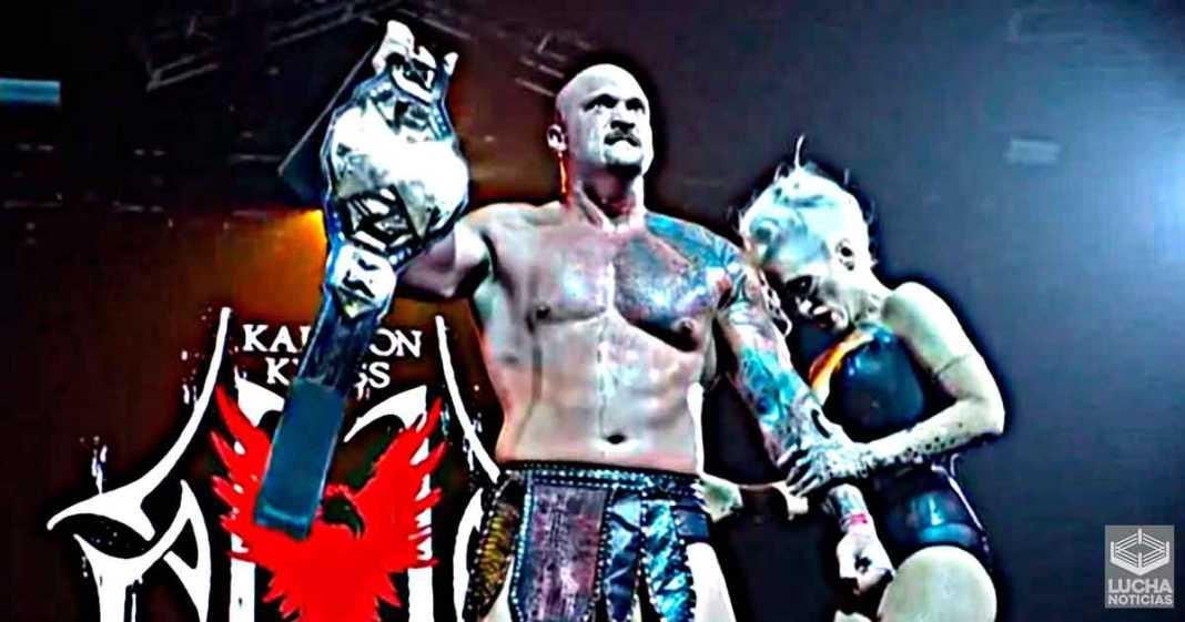 Karrion Kross vence a Finn Bálor y es el nuevo campeón de WWE NXT