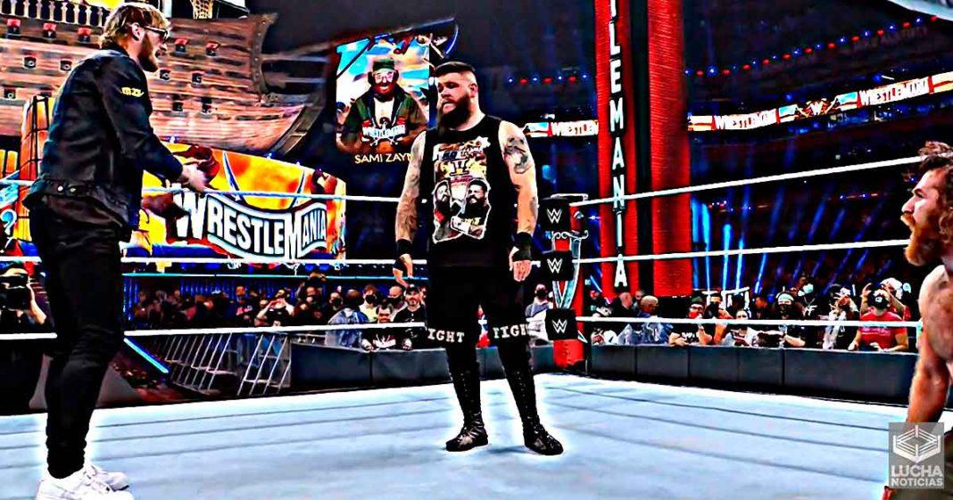 Kevin Owens vence a Sami Zayn en WrestleMania