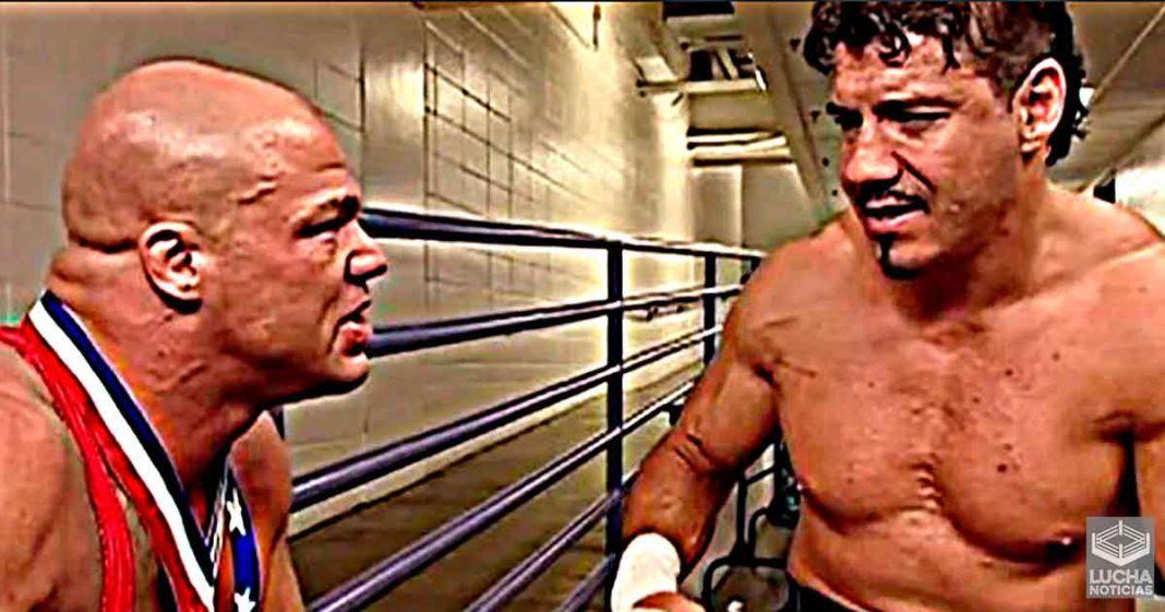 Kurt Angle confirma que axfisió legitimamente a Eddie Guerrero en backstage