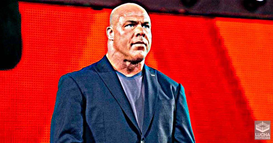 Kurt Angle esta en proceso de trabajar algo con WWE