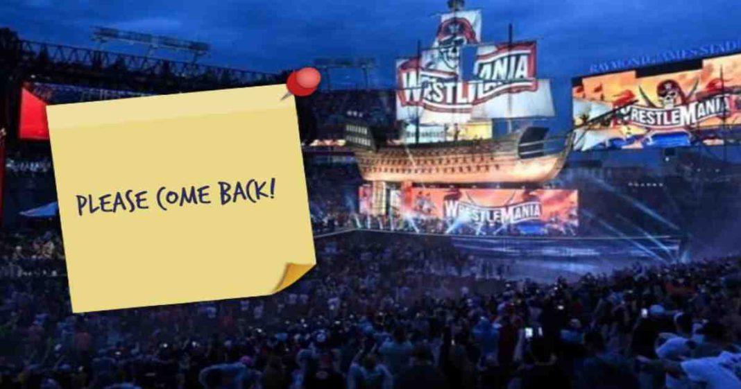 Las Superestrellas de la WWE sienten que la empresa podría traer de vuelta a los fans a los eventos de inmediato