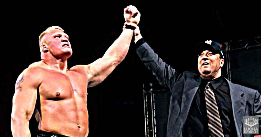 Leyenda de la WWE da su opinión honesta sobre como lucha Brock Lesnar