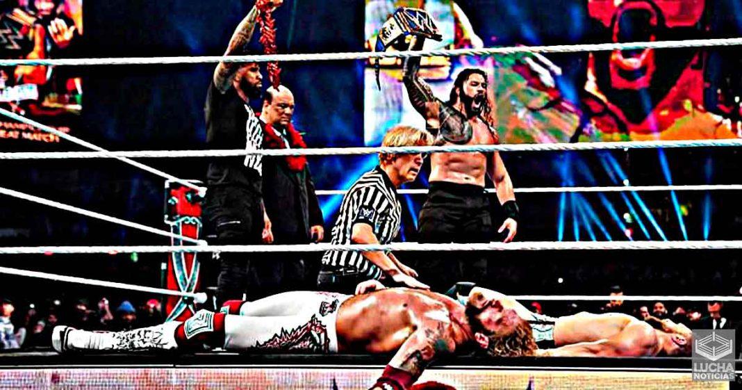 Leyenda de la WWE felicita a Roman Reigns, Edge y Daniel Bryan por el