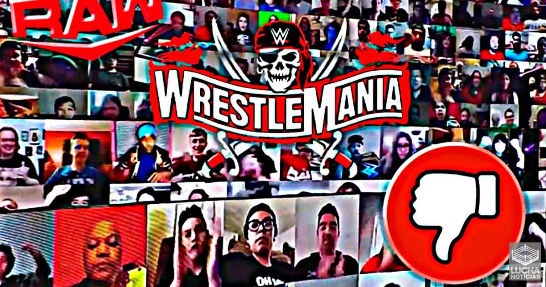 Los fans no están contentos con el WWE RAW después de WrestleMania