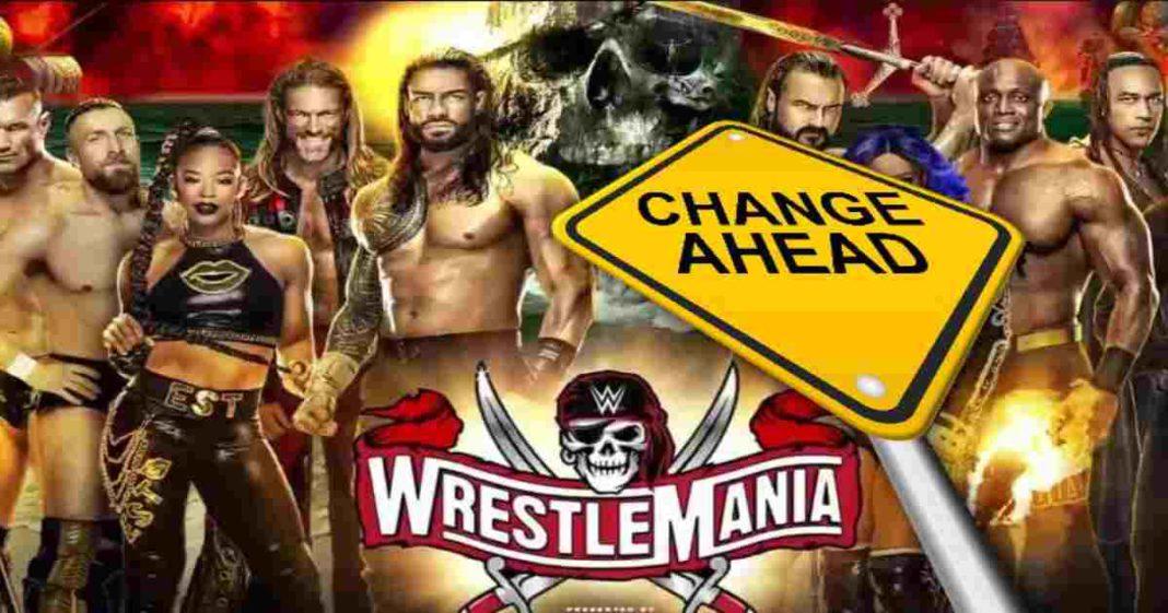 Más detalles del gran cambio de último minuto en el final de una lucha de WrestleMania 37