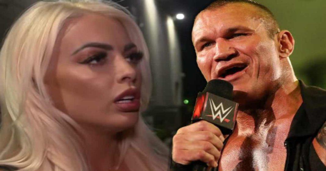 Mandy Rose molesta con Randy Orton por burlarse de su caida en WM37