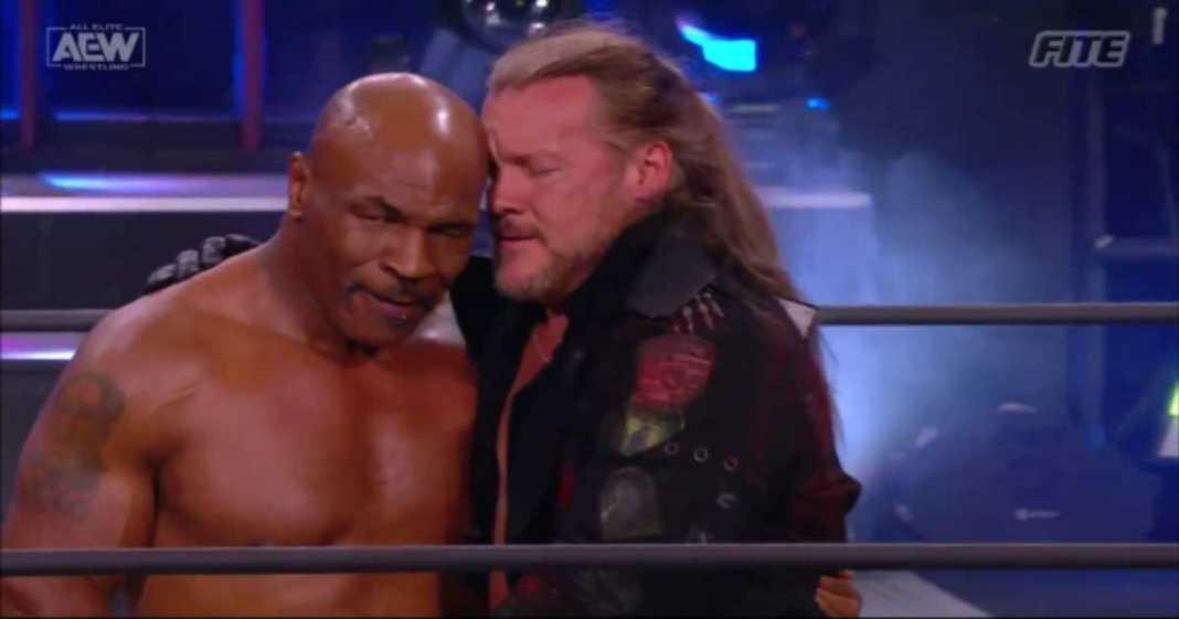 Mike Tyson y Chris Jericho limaron esperezas en AEW Dynamite
