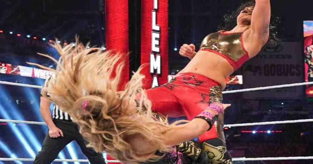 Natalya muestra una espeluznante lesión su combate en WrestleMania 37