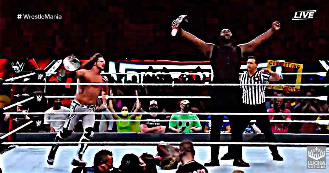 Omos y AJ Styles vencen en WrestleMania y son los nuevos campeones de parejas de WWE RAW