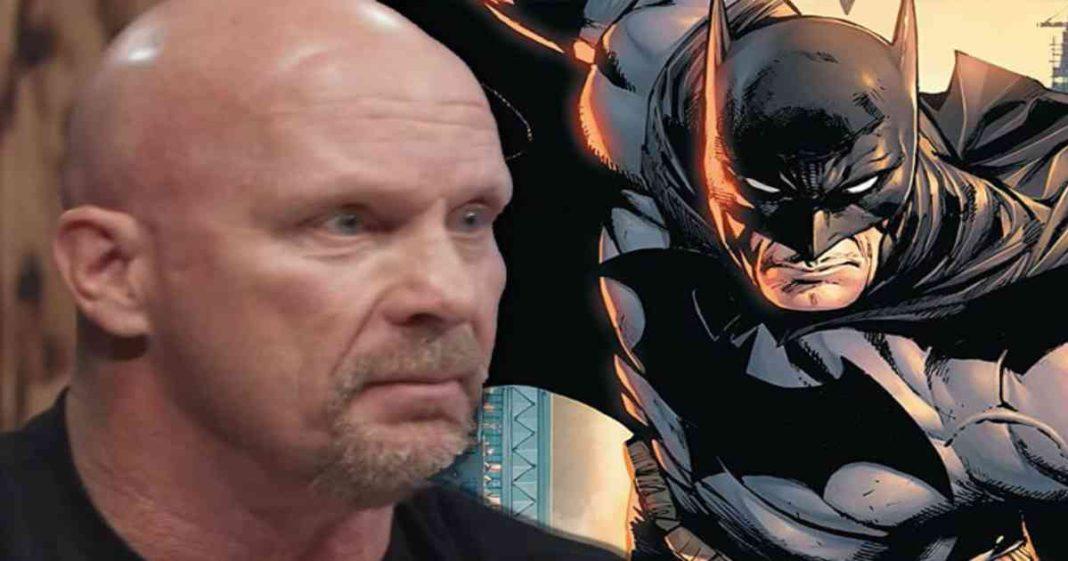 Originalmente WWE habia nombrado a Steve Austin como un villano de Batman