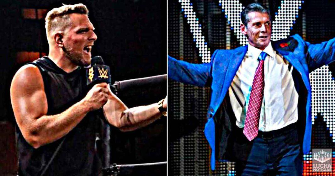 Pat McAfee relata su primera reunión con Vince McMahon