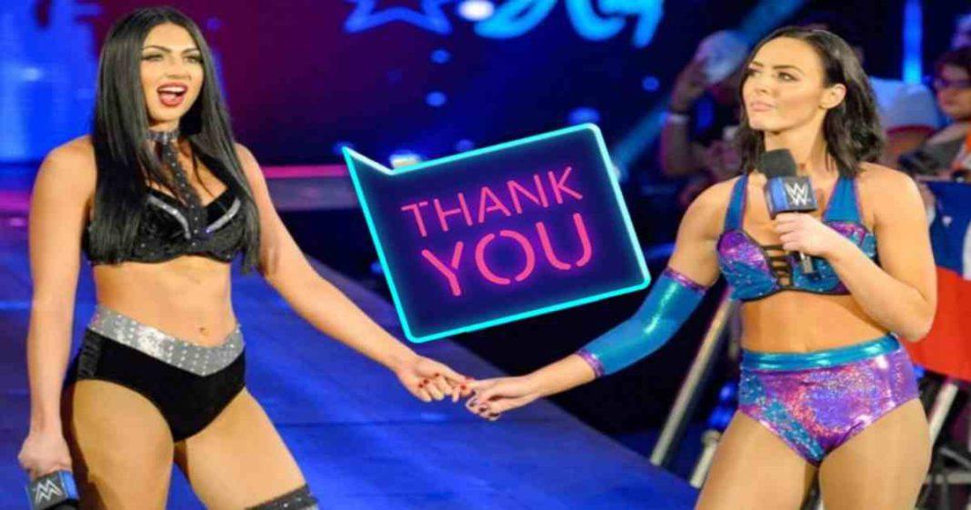 Peyton Royce y Billie Kay comparten grandes elogios para un productor de la WWE