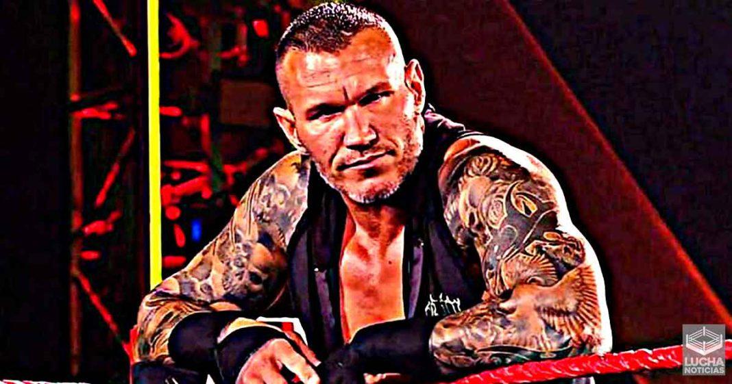 Randy Orton admite que