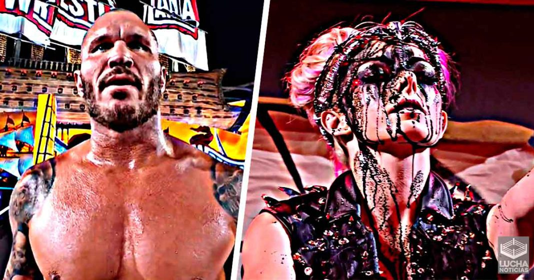 Randy Orton vence a The Fiend en WrestleMania - Alexa Bliss se transforma