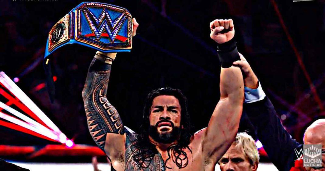 Roman Reigns vence a Edge y Daniel Bryan en WrestleMania y retiene el campeonato Universal